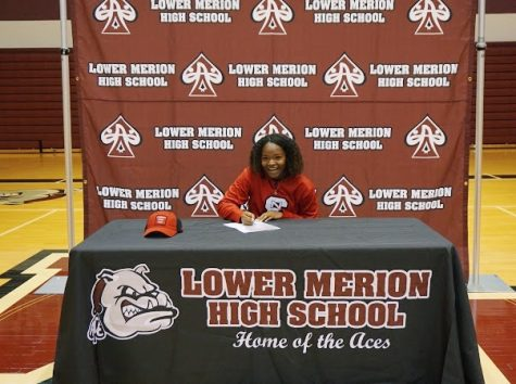 Brown-Swint, along with eight other  seniors, signed their letters of intent to play D1 athletics for next year.