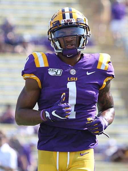 Louisiana State's explosive, dynamic wide receiver Ja'Marr Chase, who opted out of his junior season to prepare for the draft, could be the Eagles' compensation for a season otherwise full of negatives. | Photo courtesy of Wiki Commons