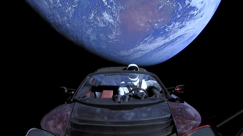 Elon Musk's Tesla Roadster | Photo courtesy of Wikicommons