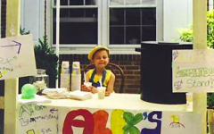Alex at Alex's Lemonade Stand | Photo courtesy of WikiCommons