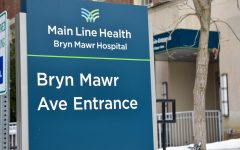 Bryn Mawr Hospital is among the many local emergency care centers that are at high capacity. | Photo courtesy of  Aiko Palaypayon '23