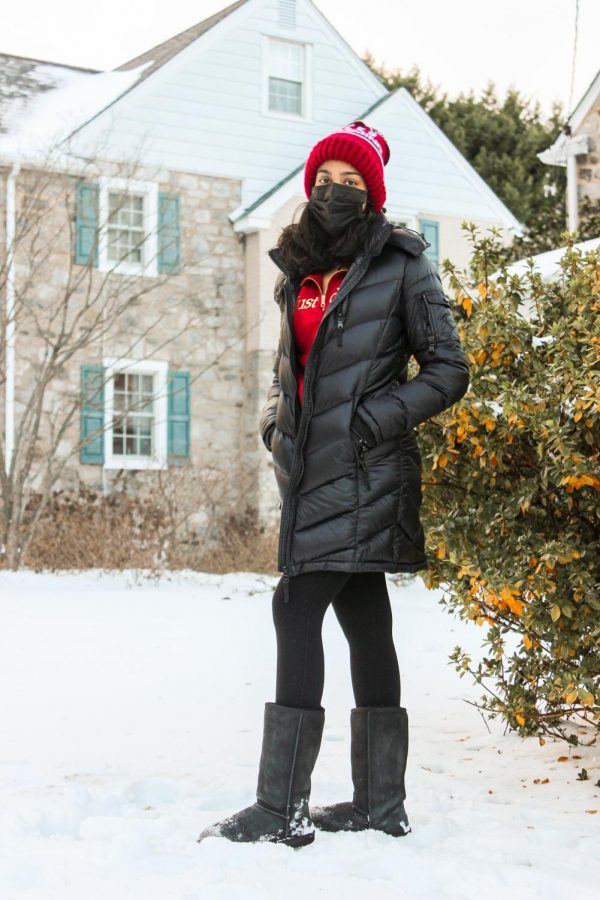 Beanies and Uggs are classics to wear each winter. | Photo courtesy of  Anika Xi
