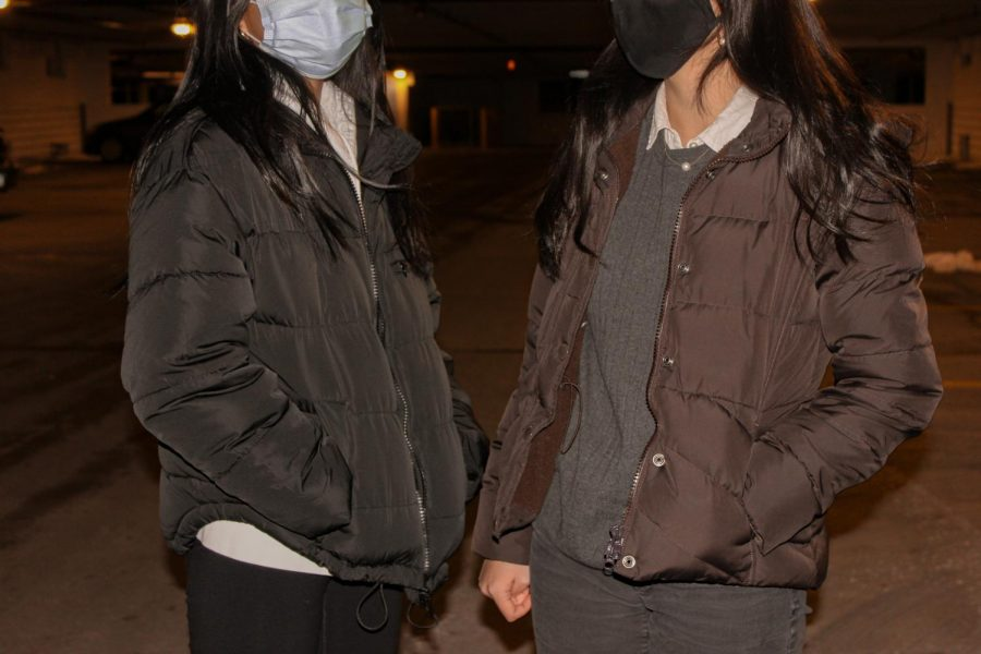 Puffer jackets are a great piece to keep you warm. | Photo courtesy of  Anika Xi '23/Staff