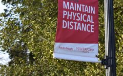 Haverford College presents safety protocols throughout the campus.