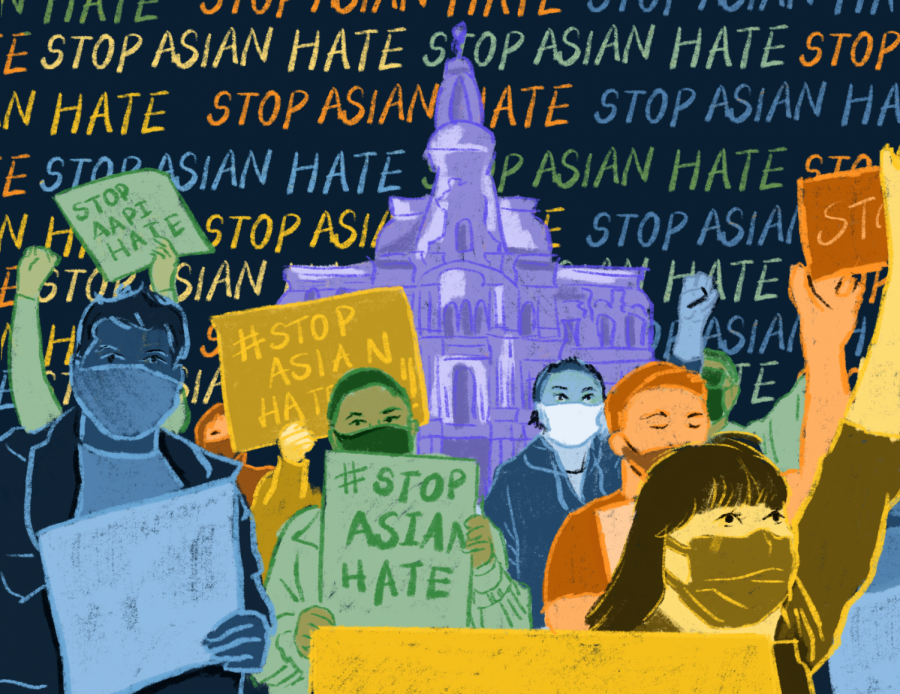 Asian Americans have been victimized, discriminated, and oppressed for too long. The time to stand up and stand tall is now. | Graphic by