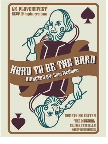 PlayersFest included many different acts, encompassing a broad range of theater. Included here are Hard to be The Bard, from Something Rotten, Rainbow Connection, from The Muppet Movie, and Rosencrantz & Guildernstern are Dead, an excerpt from the play. | Graphics by Emmi Wu 23/Staff