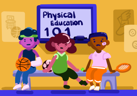 Many student-athletes feel that their time spent in physical education classes could be better used elsewhere. | Graphic by