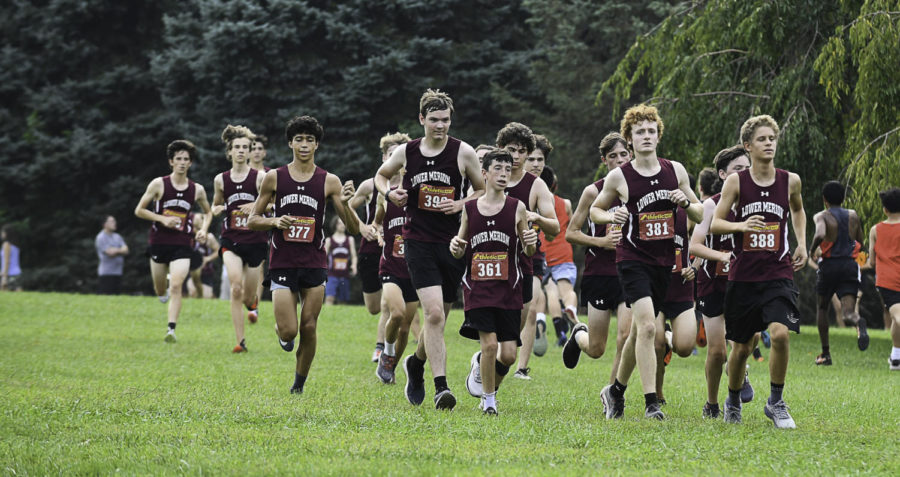 The Boys Cross Country team prepares for their meet at Rose Tree Park, an event much of the team was not allowed to participate in last year | Photo Courtesy of The Enchiridion