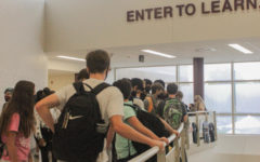 Students are excited to attend in-person school | Photo courtesy of and be back to normal as much as possible.